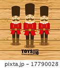 デザイン おもちゃ 木製のイラスト 17790028