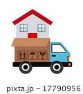 ベクトル トラック 配送のイラスト 17790956