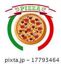 ベクター ピザ ピッツァのイラスト 17793464