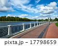 Embankment of Verkhnee lake. Kaliningrad 17798659