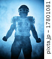 american football player silhouette 17801081