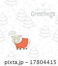 冬 ベクトル カードのイラスト 17804415