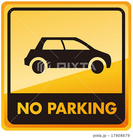 no car no parking sign Vector 17808679