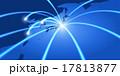 ネットワーク グローバル 光のイラスト 17813877