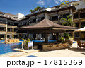 Swimming pool and bar 17815369