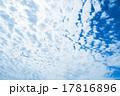 雲 青空 青色の写真 17816896