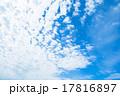 雲 青空 青色の写真 17816897
