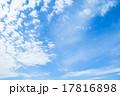 雲 青空 青色の写真 17816898
