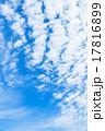 雲 青空 青色の写真 17816899