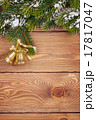 Christmas fir tree with snow and holiday decor 17817047