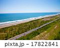 海岸 九十九里 道の写真 17822841