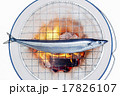 サンマ 炭火 コンロの写真 17826107