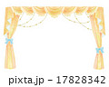 幕・カーテンのイラスト 17828342