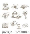 手描き ベクター イラストのイラスト 17830048