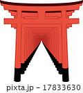 伏見稲荷神社_イラスト 17833630