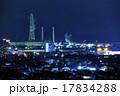 工場夜景 工場 コンビナートの写真 17834288