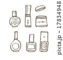 ネイルカラーのセット 17834948