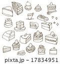 ケーキのセット 17834951