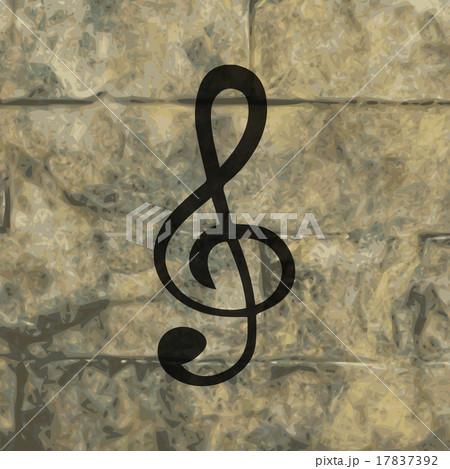 Music elements notes web icon, flat designのイラスト素材 [17837392] - PIXTA