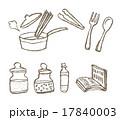 パスタ 料理 ベクターのイラスト 17840003