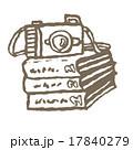 カメラとフォトアルバム  17840279