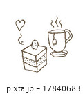 紅茶とケーキ 17840683