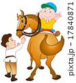 乗馬イラスト1 17840871