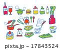 料理などのセット 17843524