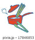 パスタを調理 17846853