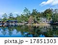 新緑の反射した池 17851303