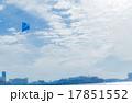 青空を飛ぶスポーツカイト 17851552