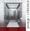 Modern elevator with opened door 17852819