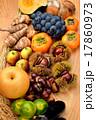 注意)食材と背景にゴミが残る場合があります。秋の味覚の食材大集合。 17860973