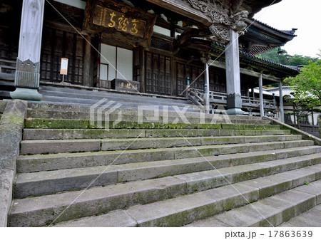 寺院の石段 17863639