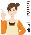 主婦 女性 説明のイラスト 17867081