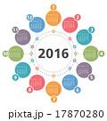 2016 カレンダー 暦のイラスト 17870280