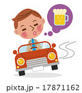 飲酒運転イメージ(デフォルメ) 17871162