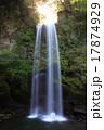 夕日の滝の滝行 17874929