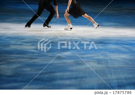 フィギュアスケートのシューズ 17875786