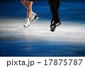 フィギュアスケート シューズ 足元の写真 17875787