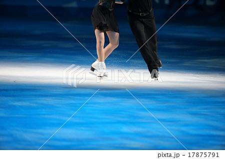 フィギュアスケートのシューズ 17875791