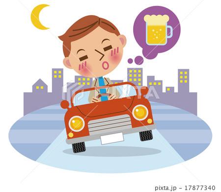 飲酒運転イメージ(背景あり) 17877340
