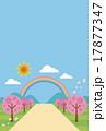 春の背景・バックグラウンド 17877347