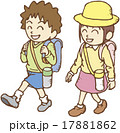 遠足に出かける子供たち 17881862