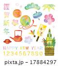 正月 ベクター アイテムのイラスト 17884297