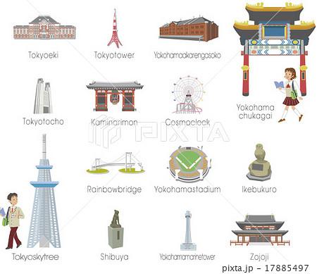 東京の街 17885497