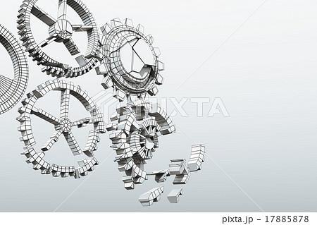 壊れた歯車のイラスト素材 [1788...