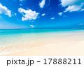 海、ビーチ、風景。沖縄、日本。 17888211
