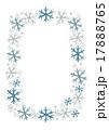 冬 雪 結晶のイラスト 17888765