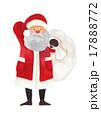 サンタ サンタクロース クリスマスのイラスト 17888772